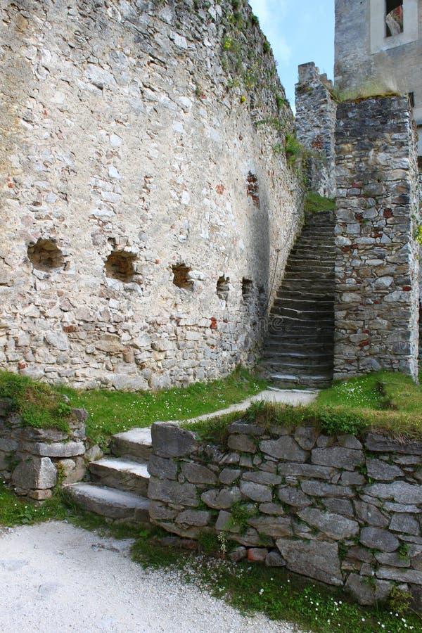 Schloss Rabi Süd-Böhmen lizenzfreies stockbild