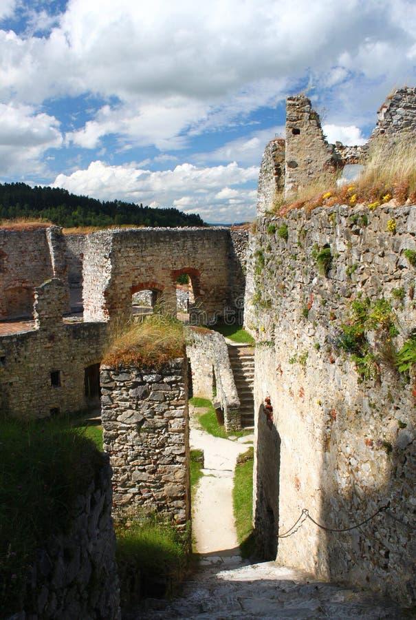 Schloss Rabi Süd-Böhmen stockbilder