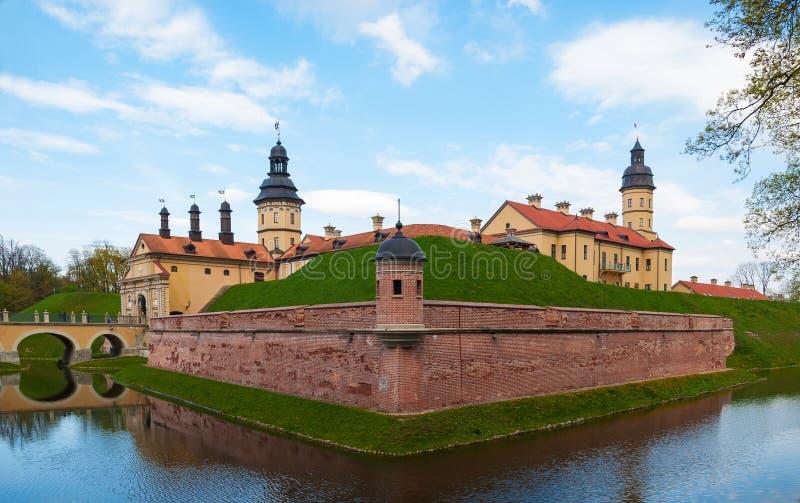Schloss Radziwill-Familie bei Nesvizh lizenzfreies stockfoto