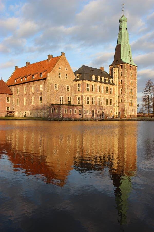 Schloss Raesfeld fotografía de archivo libre de regalías