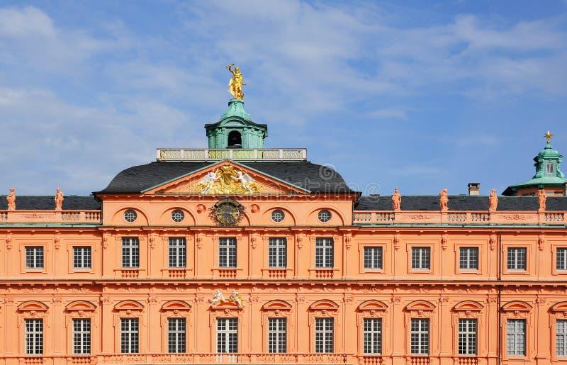 Schloss Rastatt lizenzfreie stockbilder