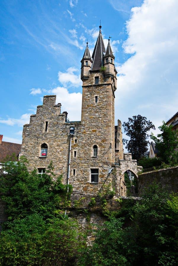 Schloss Rothschild - castelo na Áustria fotos de stock