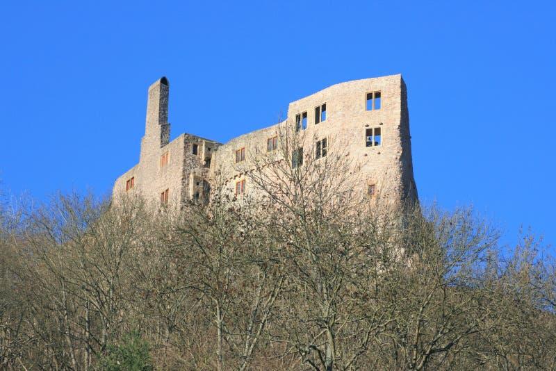 Schloss ruiniert Idar Oberstein, Deutschland lizenzfreies stockfoto