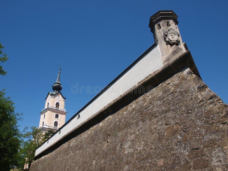 Schloss in RzeszÃ-³ w, Polen stockbild