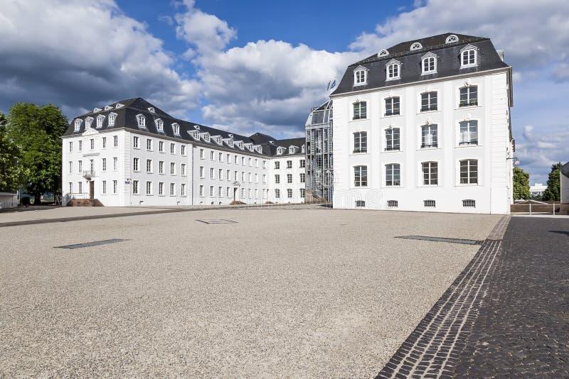 Schloss Saarbruecken. An image of the castle in Saarbruecken Germany royalty free stock image