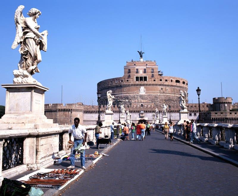 Schloss San Angelo, Rom lizenzfreie stockfotografie