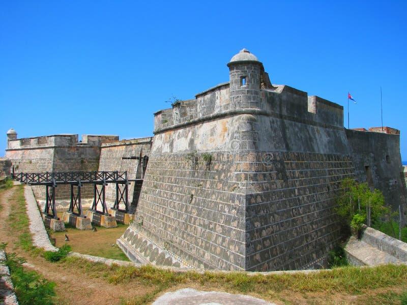Schloss-San Pedro de la Roca del Morro lizenzfreie stockfotos