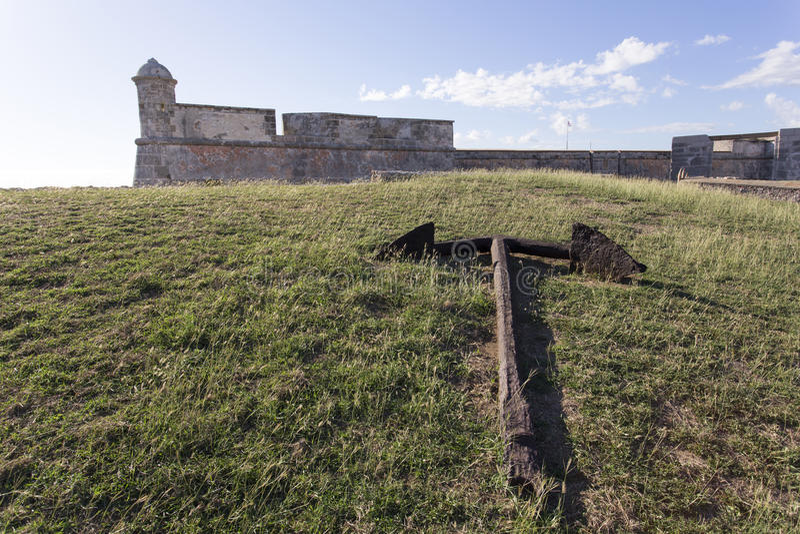 Schloss San Pedro de la Roca del Morro, lizenzfreies stockfoto