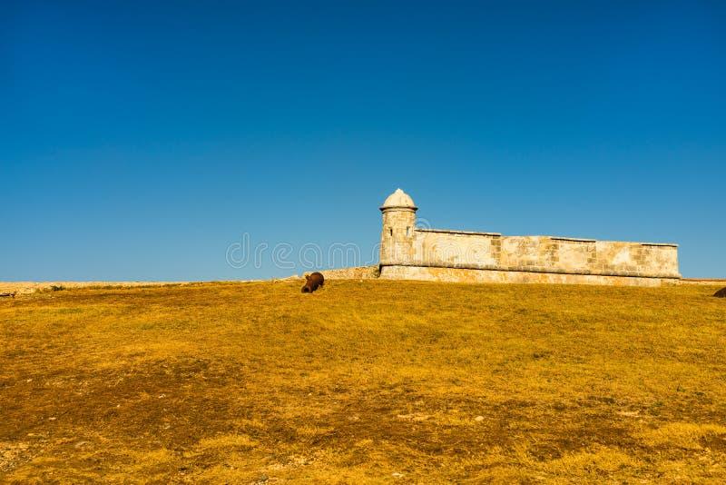 Schloss San Pedro de la Roca del Morro, Santiago de Cuba, Kuba lizenzfreie stockfotos