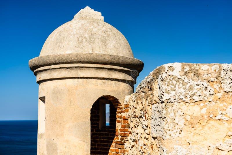 Schloss San Pedro de la Roca del Morro, Santiago de Cuba, Kuba stockbild