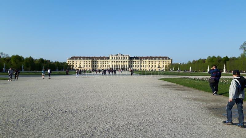Schloss Schönbrunn stock fotografie