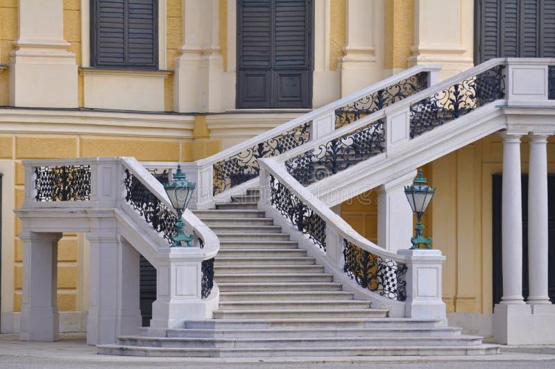 Schloss Schönbrunn, Viena foto de archivo