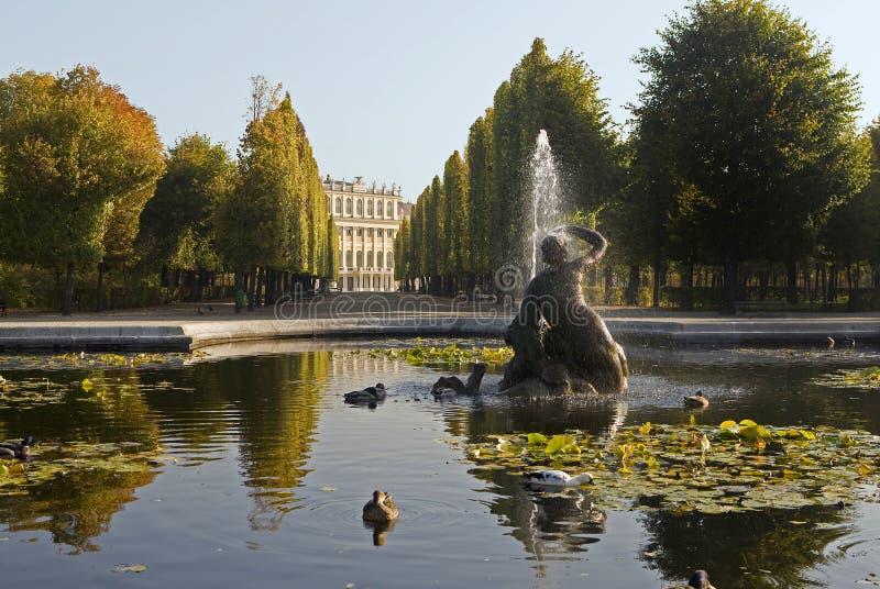 Schloss Schönbrunn, Wien stockbild
