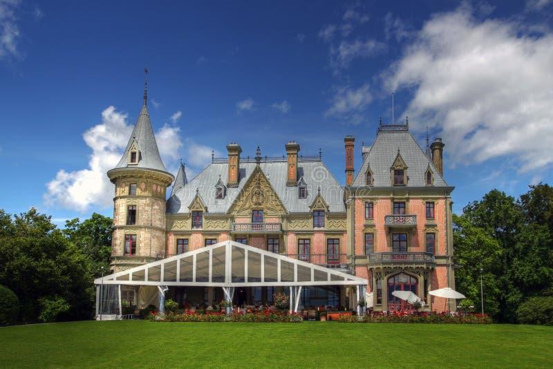 Schloss Schadau 01, Thun, Switzerland royalty free stock photos