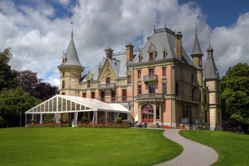 Schloss Schadau 02, Thun, Svizzera fotografia stock libera da diritti