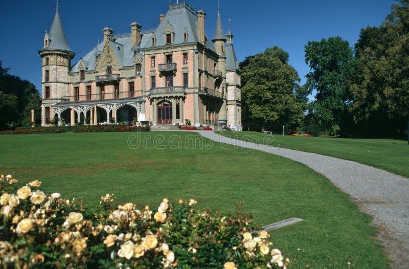 Schloss Schadau stockfoto