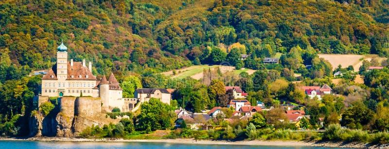 Schloss Schonbuhel城堡:Schonbuhel阿格斯巴赫,奥地利 库存图片