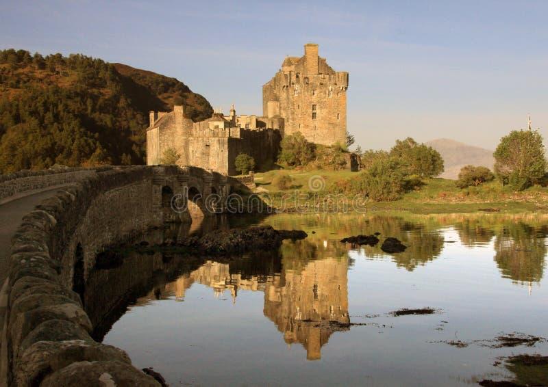 Schloss in Schottland stockfotografie