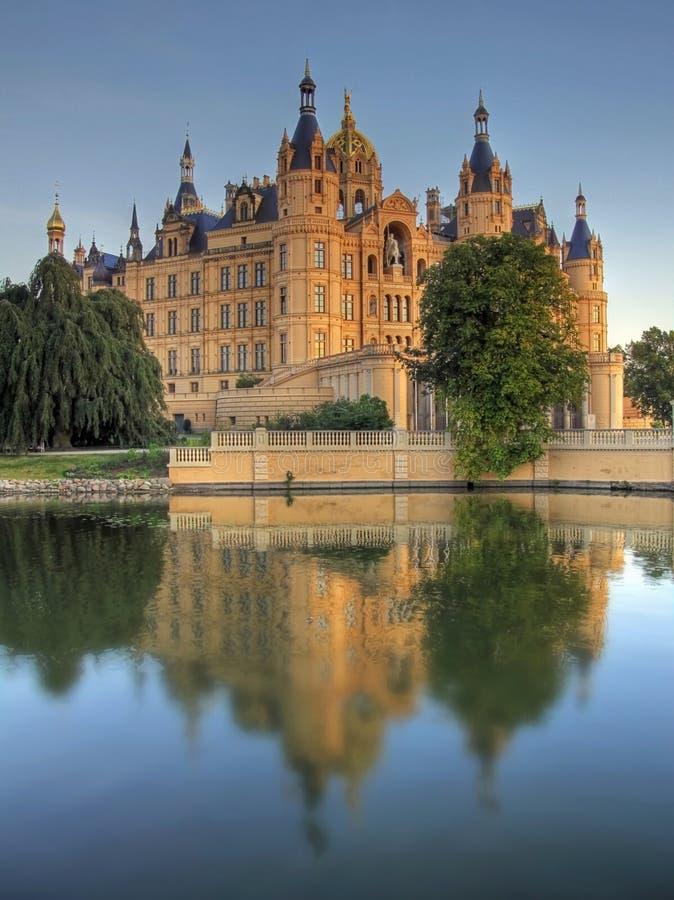 Schloss Schwerin lizenzfreie stockfotos