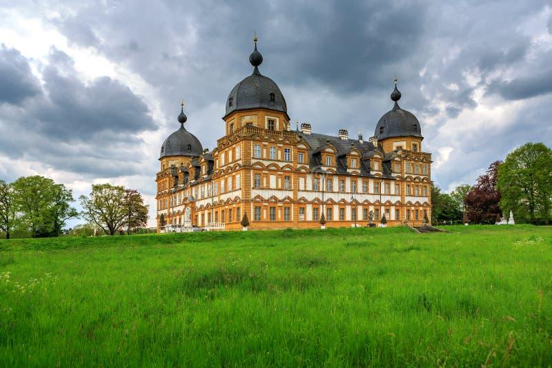 Schloss Seehof στοκ εικόνα