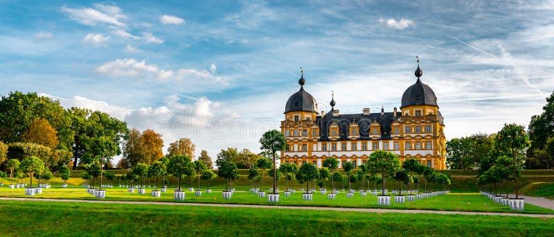 Schloss Seehof - Memmelsdorf nahe Bamberg lizenzfreies stockfoto