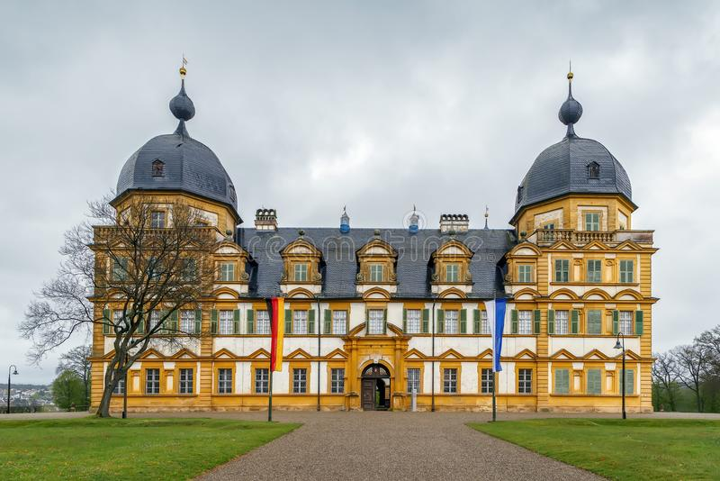 Schloss Seehof, Niemcy zdjęcie royalty free