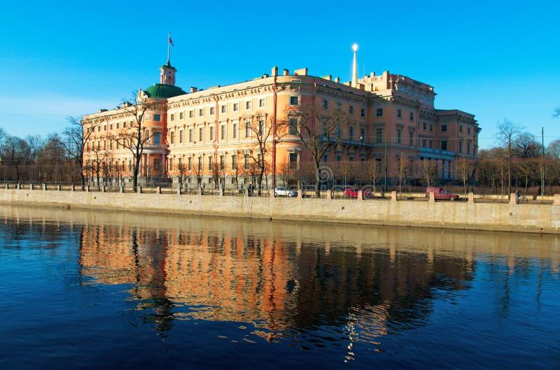 Schloss St Michael s, Petersburg lizenzfreies stockfoto