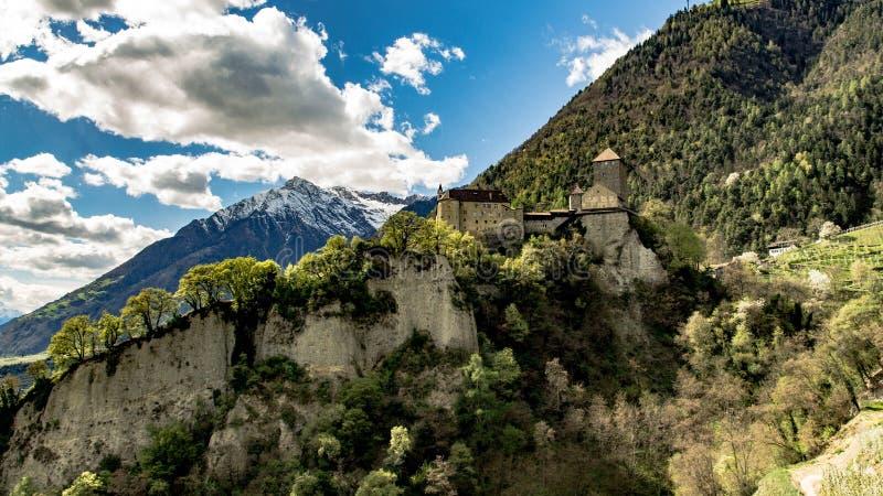 Schloss Tirol stockfoto