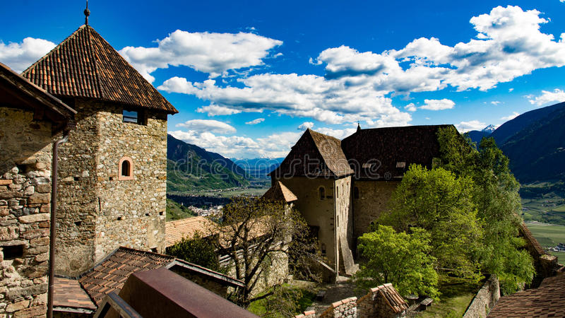 Schloss Tirol royalty free stock photography
