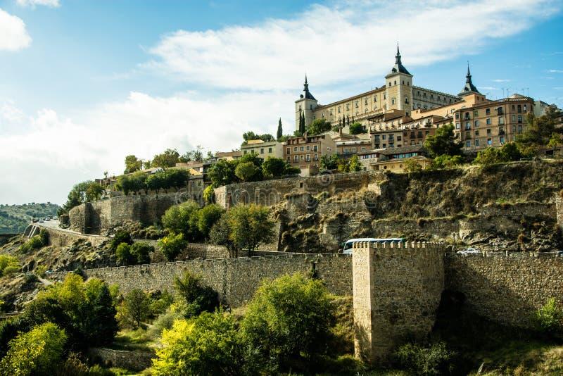 Schloss in Toledo, Spanien lizenzfreies stockfoto
