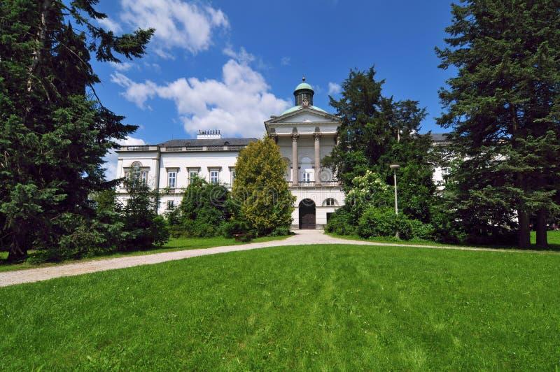 Schloss Topolcianky, Slowakei lizenzfreie stockfotografie