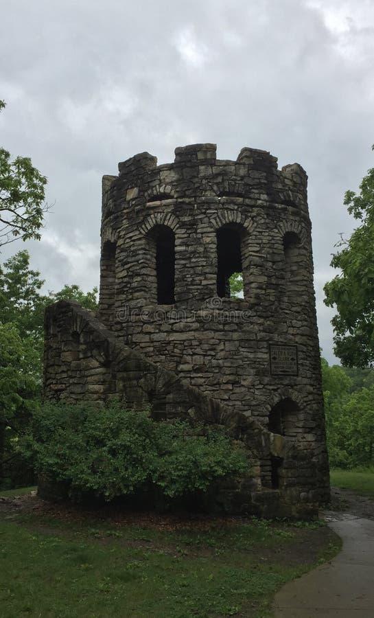 Schloss-Turm lizenzfreie stockfotos