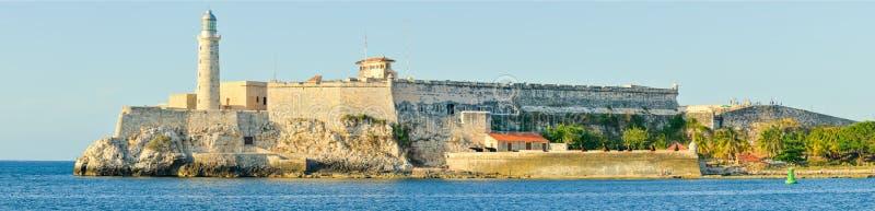 Schloss und Leuchtturm EL Morro in Havana lizenzfreies stockfoto