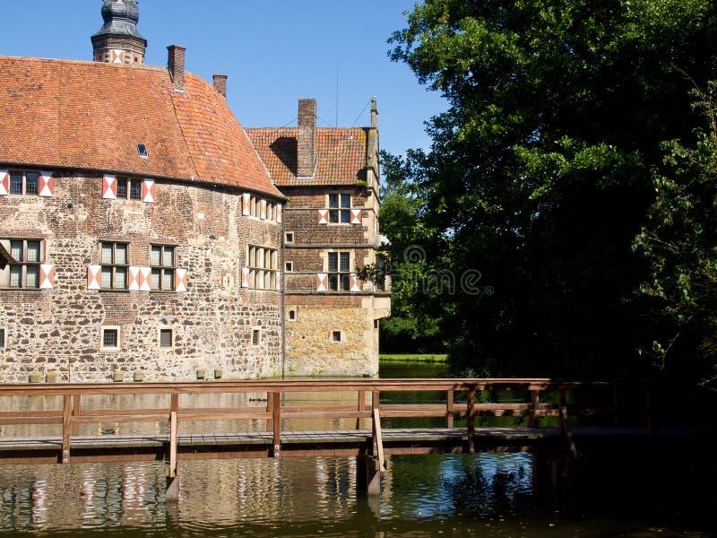 Schloss Vischering stockfotografie