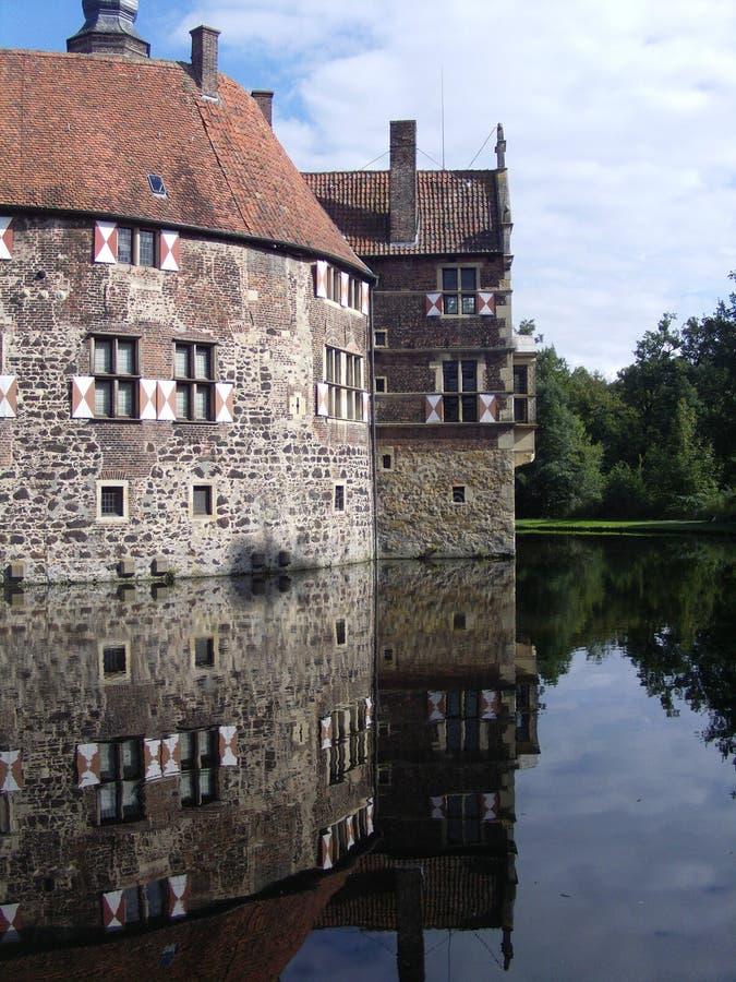 Schloss Vischering, Luedinghausen stockfoto