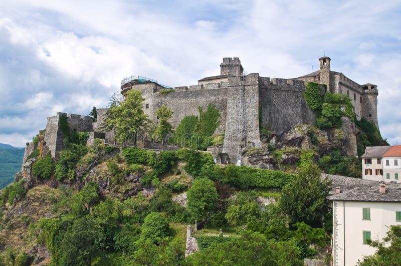 Schloss von Bardi. Emilia-Romagna. Italien. stockfotos