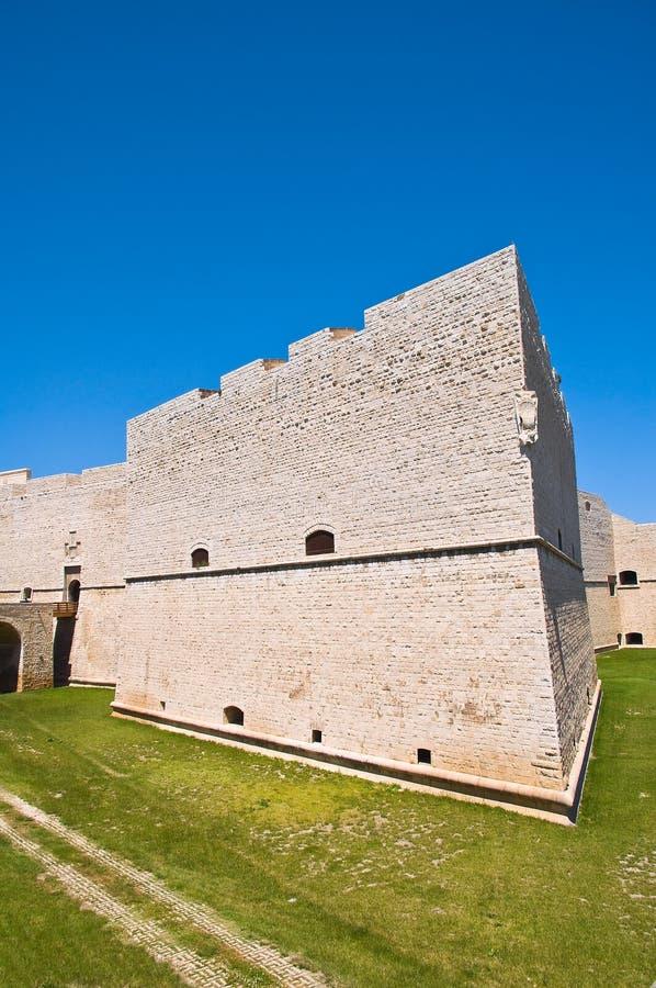 Schloss von Barletta Puglia Italien stockbilder