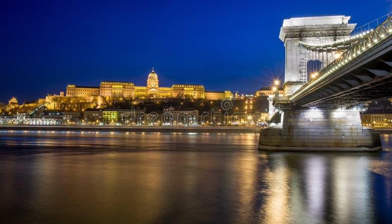 Schloss von Budapest stockbild