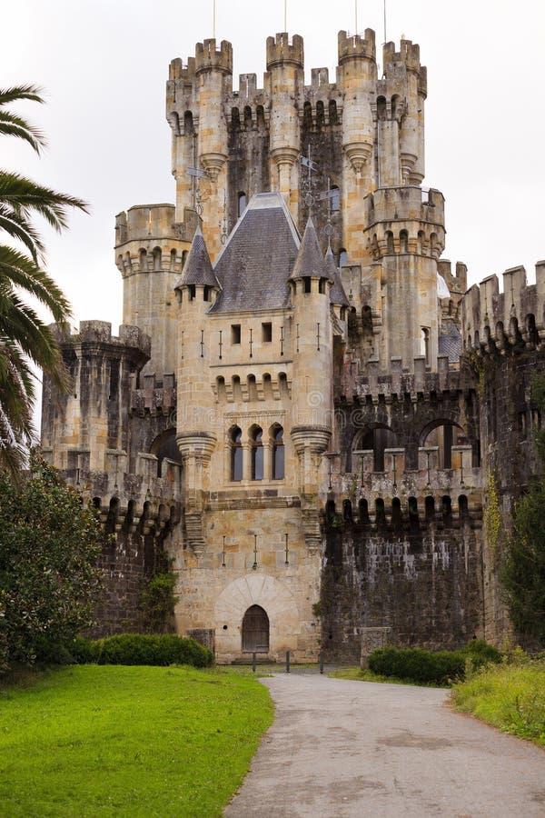 Schloss von Butron, Spanien stockbilder
