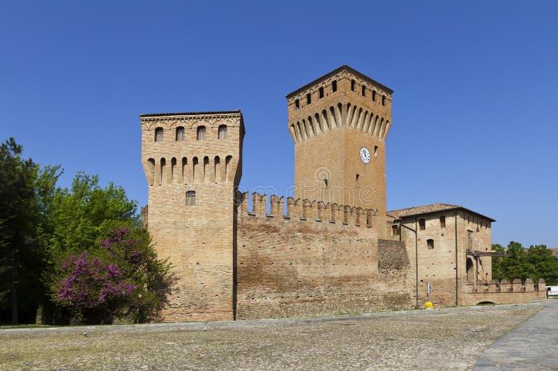 Schloss von Formigine, Emilia-Romagna, Italien stockbilder
