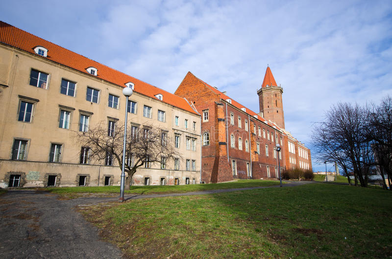 Schloss von Legnica, Polen lizenzfreie stockbilder