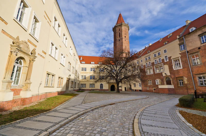 Schloss von Legnica, Polen stockfotos