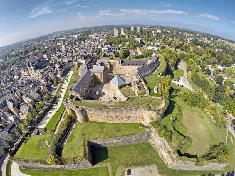 Schloss von Limousinen, Champagne Ardenne, Frankreich stockfotografie