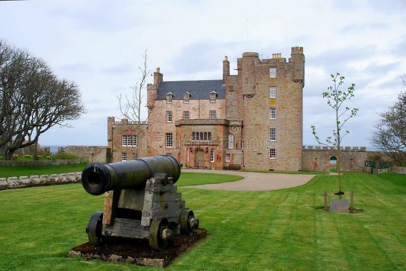 Schloss von Mey. stockbild