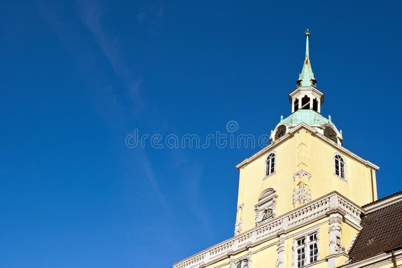 Schloss von Oldenburg, Deutschland stockbild