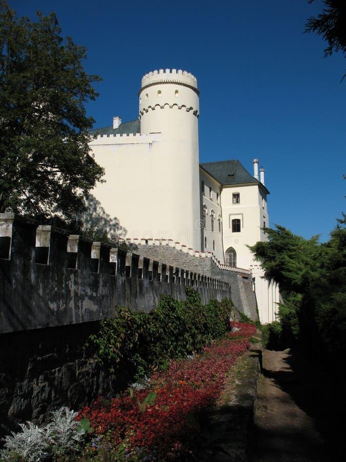 Schloss von Orlik stockbilder