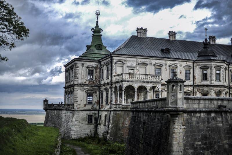 Schloss von Pidhirci stockfotos