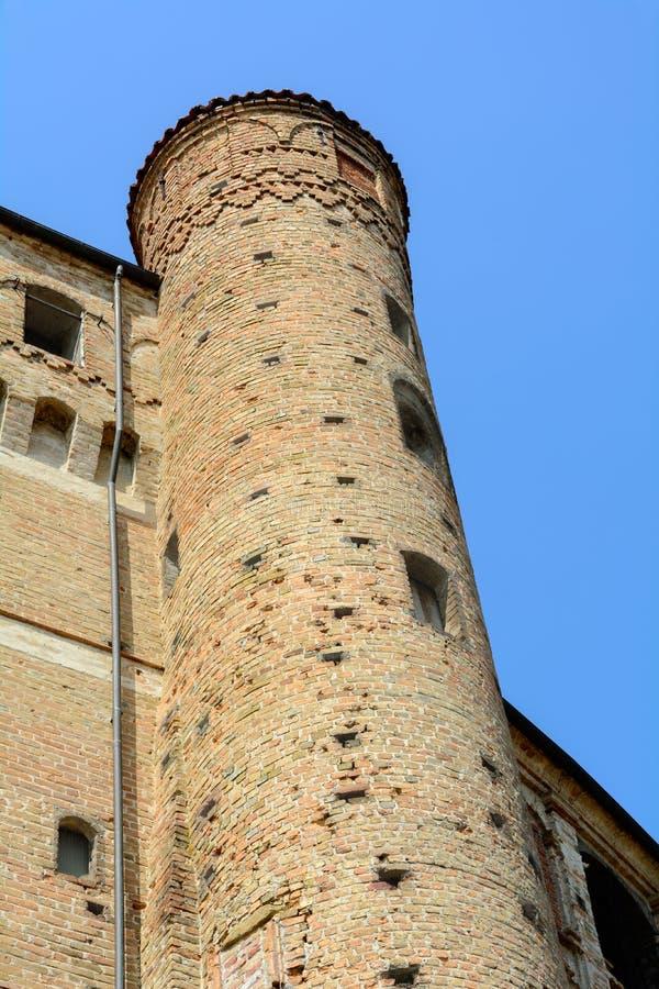 Schloss von Roddi lizenzfreie stockfotografie
