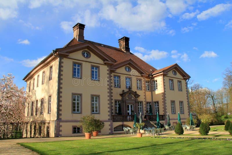 Schloss von schieder lizenzfreies stockfoto