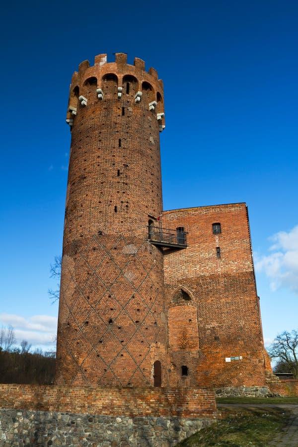 Schloss Von Swiecie Lizenzfreie Stockfotografie